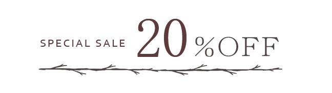 リネンカーテン 20%OFF
