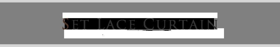 SET LACE CURTAIN レースカーテンは2種類からお選びいただけます。