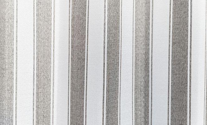 ストライプ柄3級遮光カーテン バラック