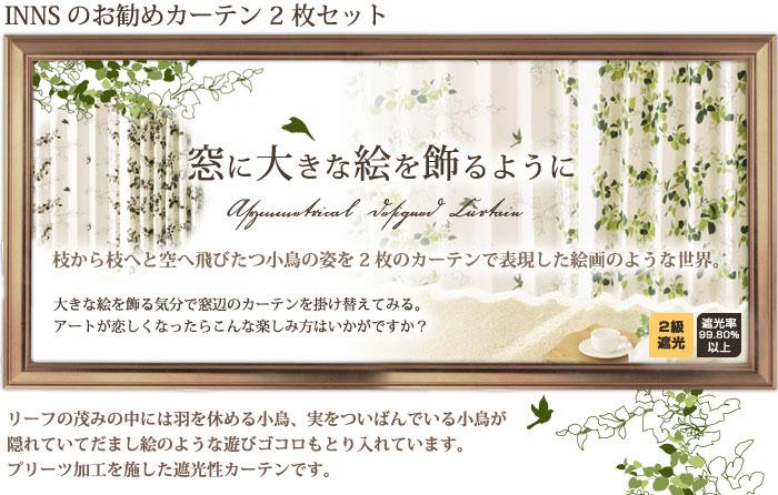 INN'Sお勧めカーテン2枚セット
