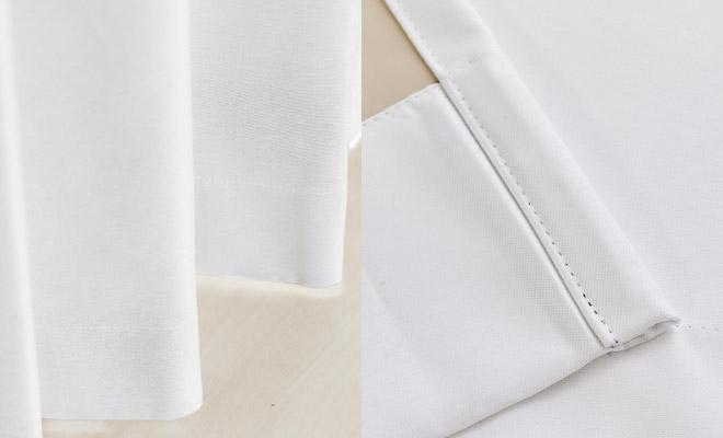真っ白な遮光カーテン!完全1級遮光・遮熱・防音カーテン シュヴァ
