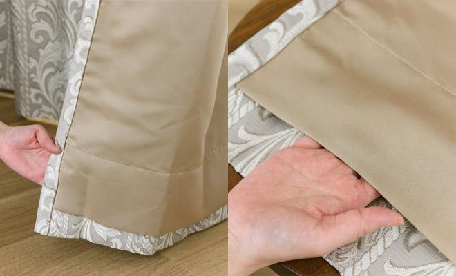 裏地付き2級遮光カーテン ジュノー