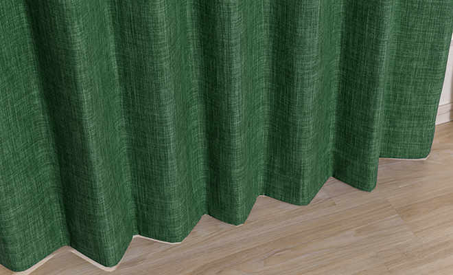 ヴィンテージ感のある素材感をイメージしたカーテン ランダ