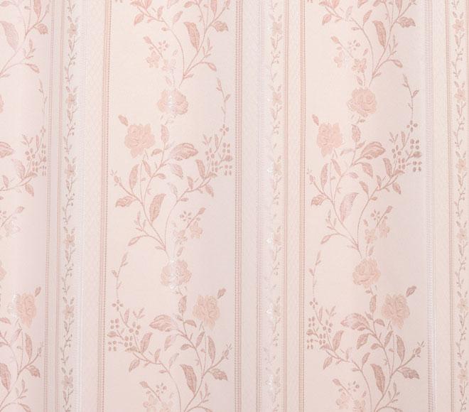 裏地付き3級遮光カーテン ソフィー ピンク