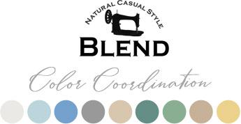 BLEND カラーコーディネート